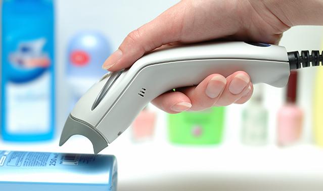 Ручной лазерный сканер штрих-кодов