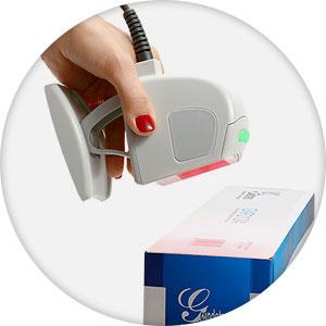 сканер штрих кода лазерный