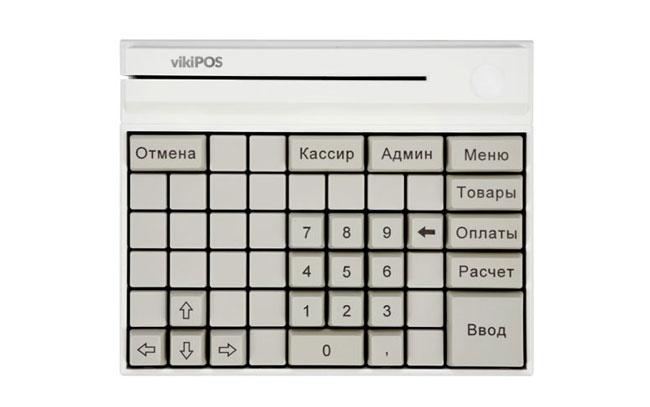 клавиатура кассира
