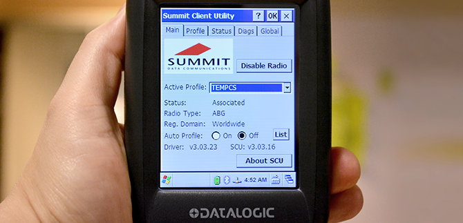 Datalogic Scorpio X3