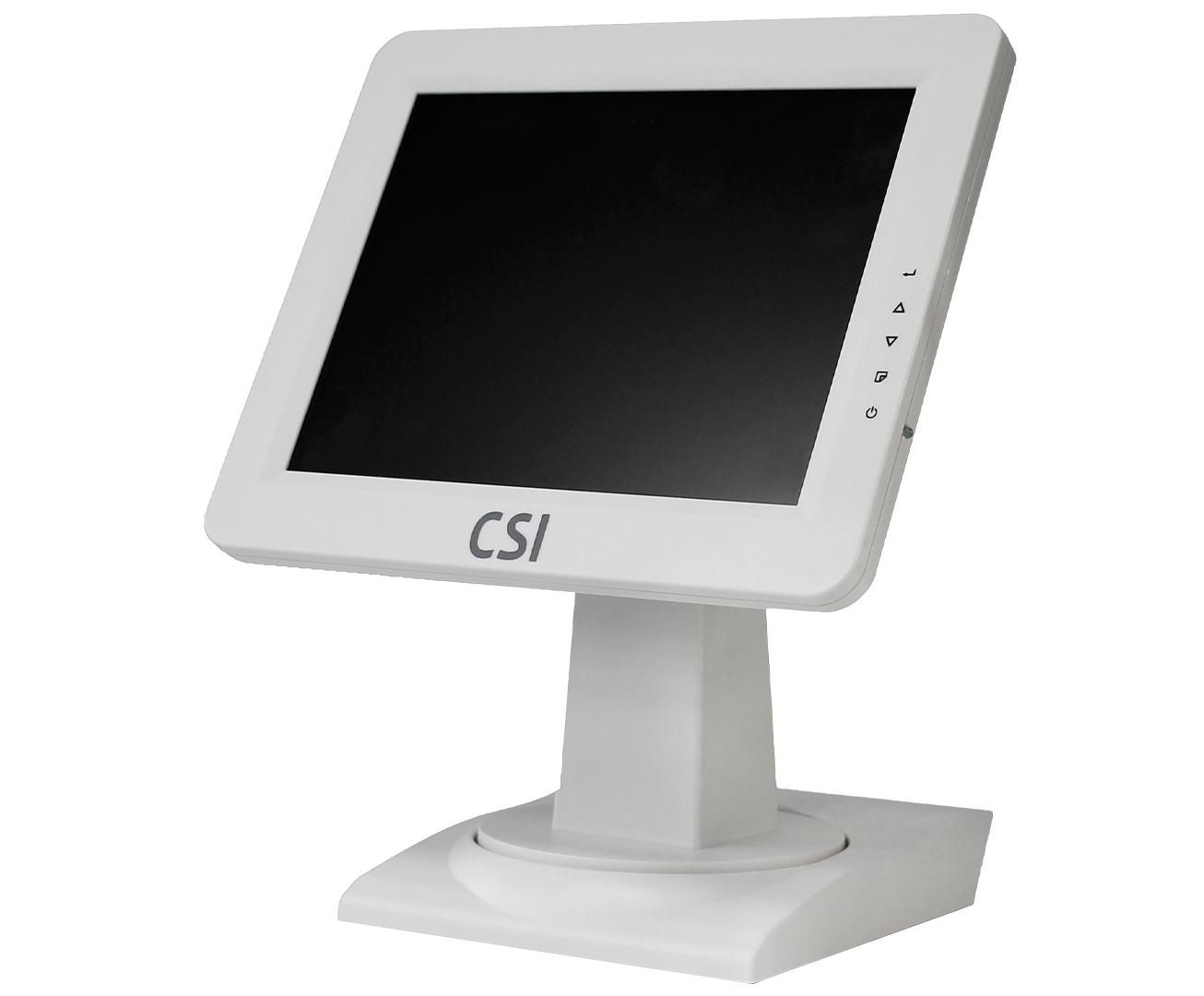 Монитор кассира CSI из комплекта POS-терминала CSI, белый цвет